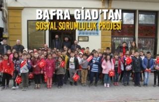 Bafra GİAD'tan Sosyal Sorumluluk Projesi