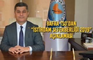 "Bafra TSO'dan ""İstihdam Seferberliği 2019""..."