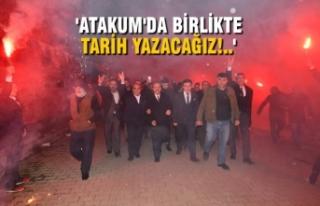 Başkan Şahin, 5 Mahallede 5 Miting Yaptı; Müjdeler...