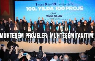 Başkan Zihni Şahin'den Atakum İçin 100'üncü...