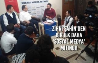 Başkan Zihni Şahin'den Bir İlk Daha 'SOSYAL...