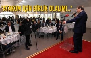 Başkan Zihni Şahin'den Birliktelik Vurgusu