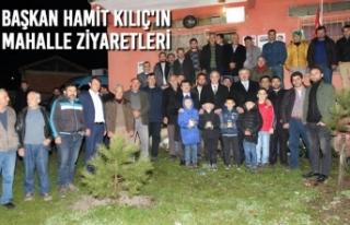 Belediye Başkanı Hamit Kılıç'ın Regaip...