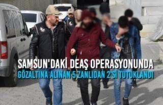DEAŞ Operasyonunda Gözaltına Alınan 5 Zanlıdan...
