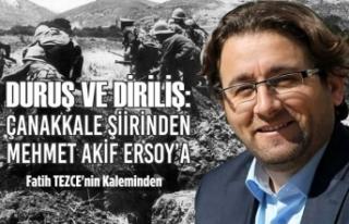 Duruş ve Diriliş: Çanakkale Şiirinden Mehmet Akif...