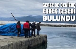 Gerze'de Denizde Erkek Cesedi Bulundu