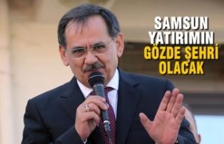 """Mustafa Demir; """"Samsun Yatırımın Gözde Şehri..."""