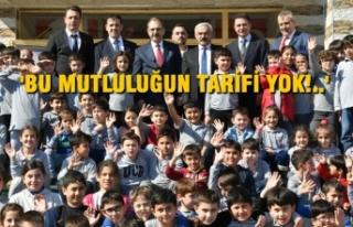Okulları Ziyaret Eden Zihni Şahin'e Çocuklardan...