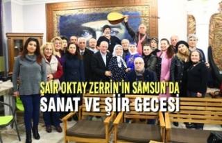 Şair Oktay Zerrin'in Samsun'da Sanat Ve...
