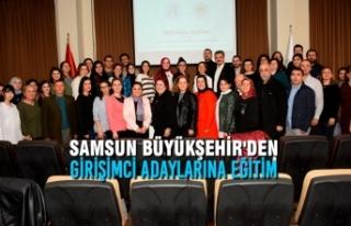 Samsun Büyükşehir'den Proje Döngüsü Yönetimi