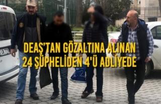 Samsun'daki DEAŞ Operasyonu; 24 Gözaltı