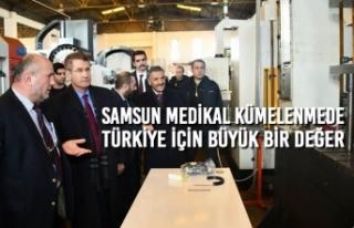 Samsun Medikal Kümelenmede Türkiye İçin Büyük...