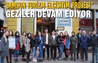 """""""Samsun Turizm Elçisiyim Projesi"""" Geziler Devam..."""