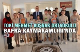 Toki Mehmet Boşnak Ortaokulu Bafra Kaymakamlığı'nda