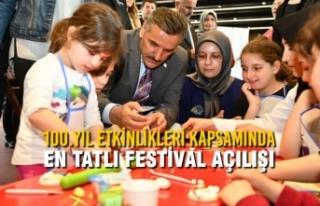 100.Yıl Etkinlikleri Kapsamında En Tatlı Festival...