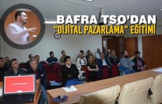 """Bafra TSO'dan """"Dijital Pazarlama"""" Eğitimi"""