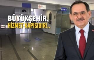 Başkan Mustafa Demir Bariyerleri Kaldırttı