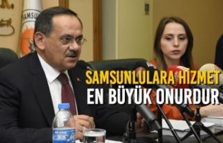Başkan Mustafa Demir, İlk Meclis Toplantısında...