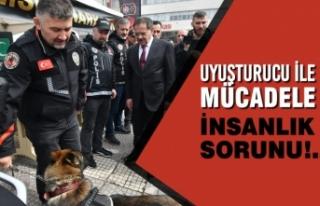 Başkan Mustafa Demir, Narkotik Eğitim TIR'ında