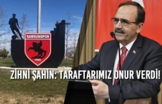 Büyükşehir'den Batı Park'a Samsunspor...