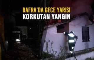Örencik Mahallesinde Korkutan Yangın