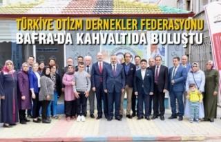 Türkiye Otizm Dernekler Federasyonu Bafra'da...