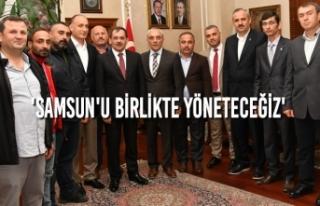 Vatandaşlardan Başkan Demir'e Ziyaretçi Akını