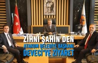 Zihni Şahin'den Atakum Belediye Başkanı Deveci'ye...
