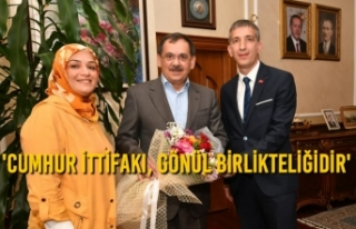 Atakum ve Canik MHP Teşkilatları, Başkan Mustafa...