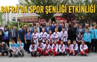 Bafra'da Spor Şenliği Etkinliği