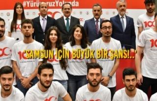 Başkan Demir'den KOÇ SPOR FEST Üniversite...