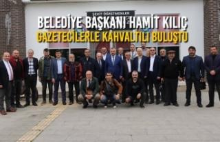 Başkan Hamit Kılıç, Gazetecilerle Kahvaltılı...