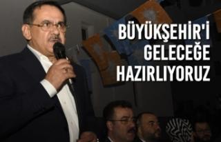 """Başkan Mustafa Demir; """"Büyükşehir'i Geleceğe..."""