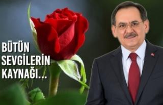 Başkan Mustafa Demir'den Anneler Günü Mesajı