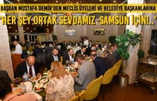Başkan Mustafa Demir'den 'Her Şey Ortak Sevdamız...