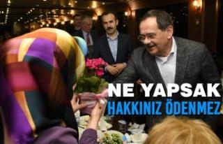 Büyükşehir Belediye Başkanı Mustafa Demir'den...