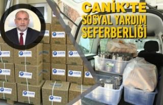 Canik'te Sosyal Yardım Seferberliği