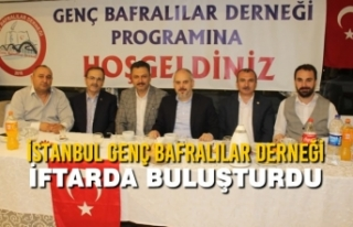 İstanbul Genç Bafralılar Derneği İftarda Buluşturdu