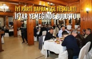 İYİ Parti Bafra İlçe Teşkilatı İftar Yemeğinde...