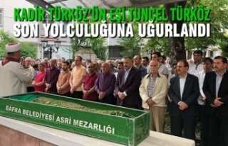 Kadir Türköz'ün Eşi Tuncel Türköz Son Yolculuğuna...