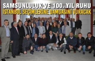 Karapıçak, İstanbul Samsun Dernekleri Federasyonu'nu...