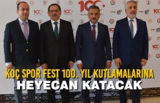 Koç Spor Fest 100. Yıl Kutlamalarına Heyecan Katacak