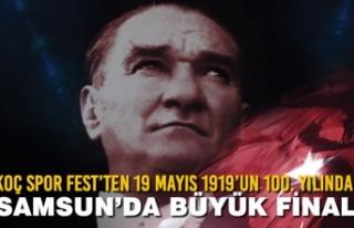 Koç Spor Fest'ten 19 Mayıs 1919'un 100. Yılında...