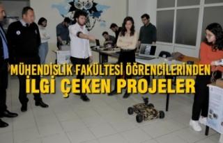 Mühendislik Fakültesi Öğrencilerinden İlgi Çeken...