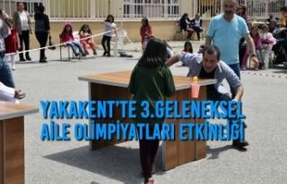 Yakakent'te 3.Geleneksel Aile Olimpiyatları Etkinliği