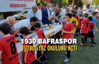 1930 Bafraspor Futbol Yaz Okulunu Açtı