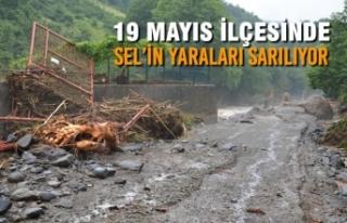 19 Mayıs'ta Sel'in Yaraları Sarılıyor