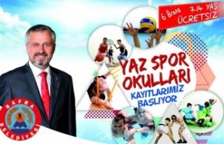 Bafra'da Yaz Spor Okulları Kayıtları Devam Ediyor