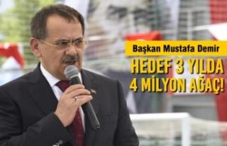 Başkan Mustafa Demir'de Çevre Günü Açıklaması
