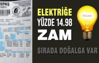 Elektriğe 1 Temmuz'dan İtibaren Yüzde 14.98...